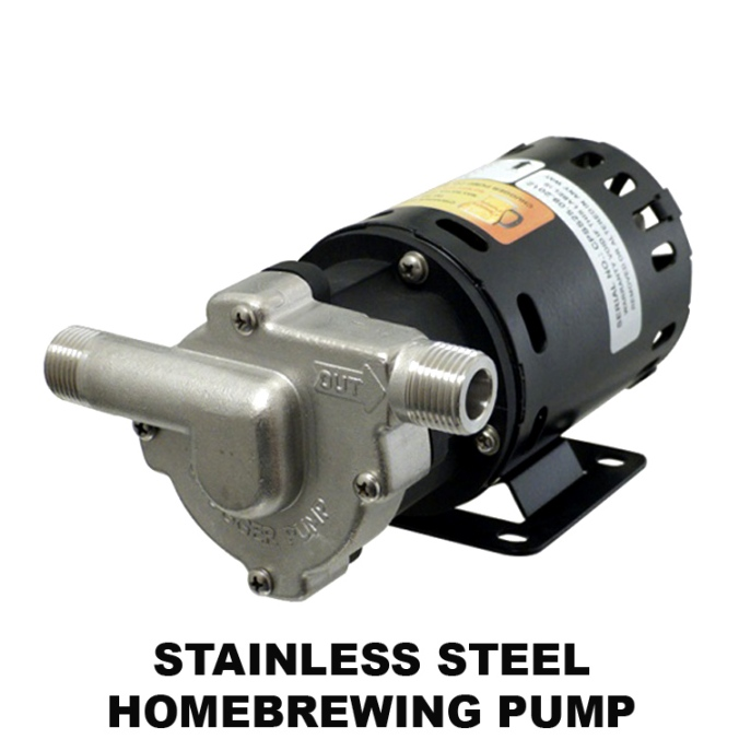 Stainless Steel Home Brewing Pump for $139