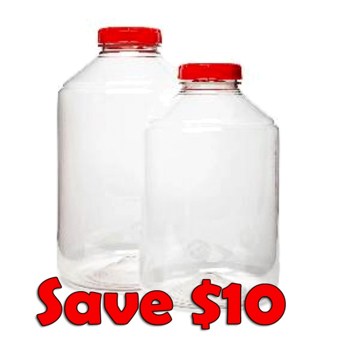 Save $10 On 7 Gallon Wide Mouth Fermenters When You Buy 2