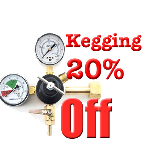 Save 20% On Homebrew Keg Systems