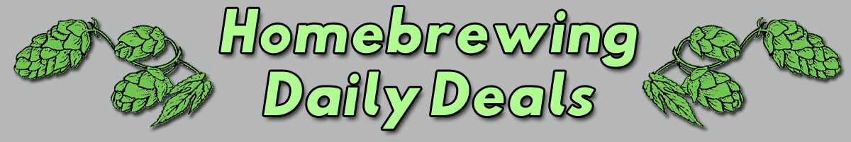 Best Hombrew Daily Deals, Promo Codes, Coupons and Home Brewing Sales