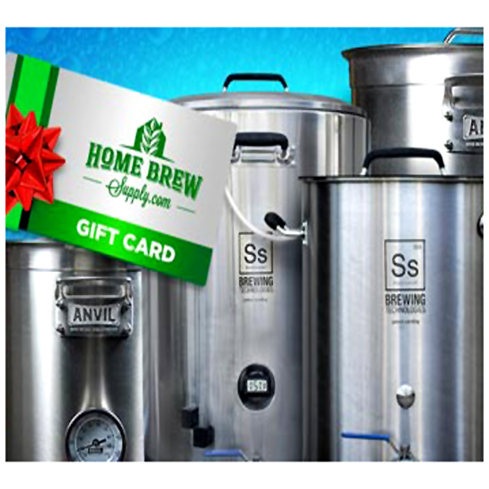 Get a $20 Gift Card With The Purchase Of A Homebrew Kettle Homebrew Supply Promo Code
