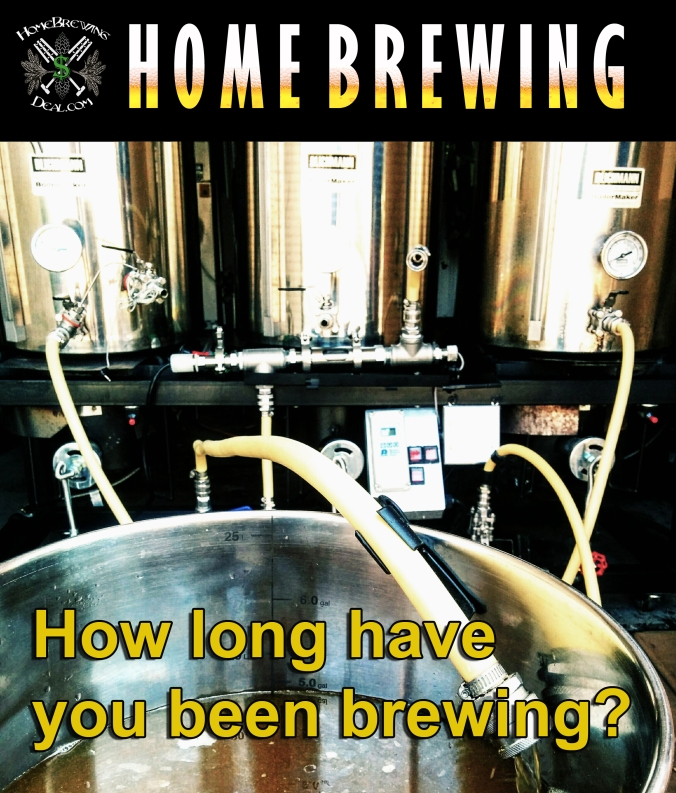 How long have you been brewing for?
