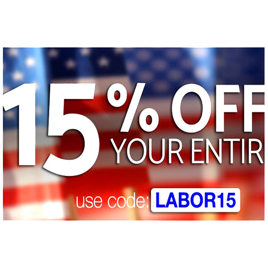 Labor Day Homebrewing Sale - Save 15%