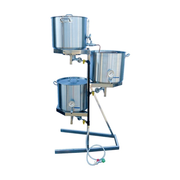 Save $500 on a More Beer Stainless Steel Brewing Rig