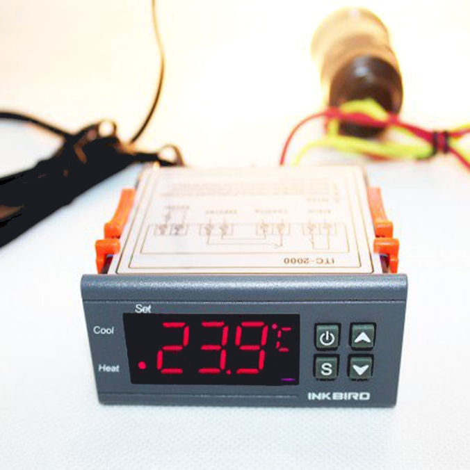 Fermentation Temperature Controller for $12