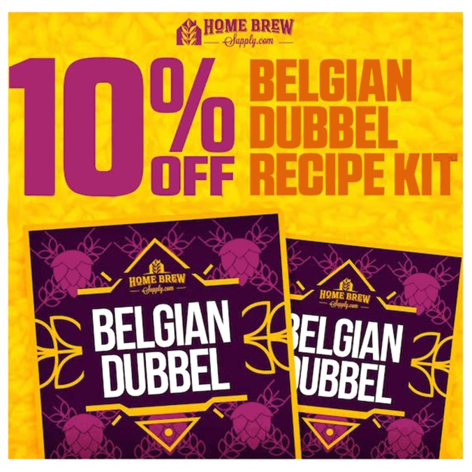 Save 10% on a Belgian Dubbel Homebrewing Recipe Kit All Grain or Extract #beer #recipe #kit #belgian #dubbel #brew #home #homebrewing
