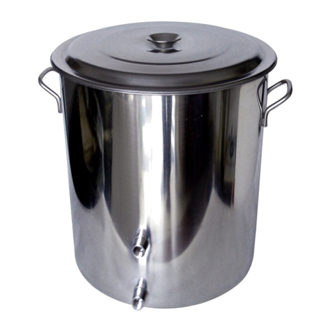 14 Gallon Stainless Steel Homebrewing Kettle #stainless #steel #homebrew #homebrewing #beer #brewing #kettle #promo #coupon #code