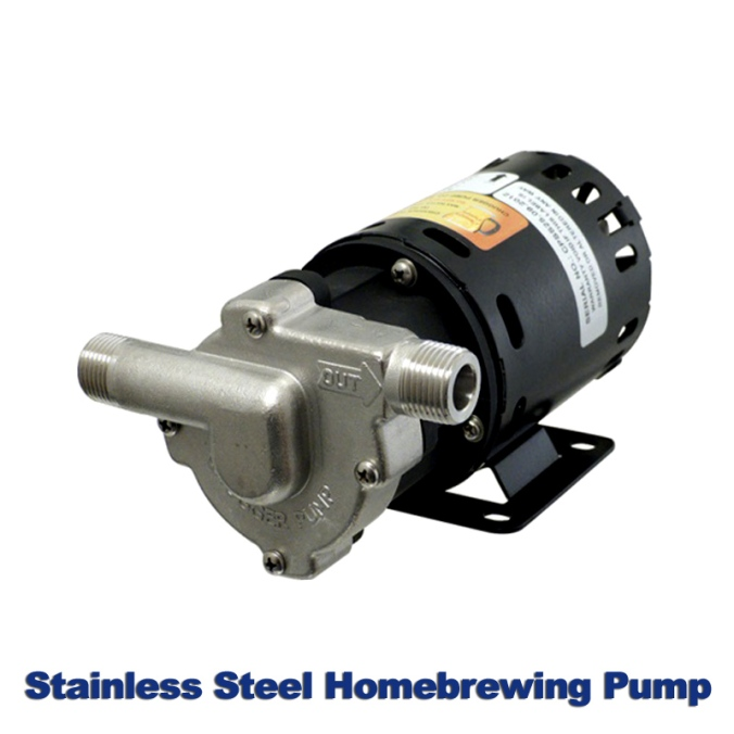 Save $20 on a Stainless Steel Homebrewing Pump with this MoreBeer.com Promo Code! #morebeer #morebeer.com #more #beer #promo #coupon #code #homebrewing #home #brewing #Stainless #steel #pump #chugger