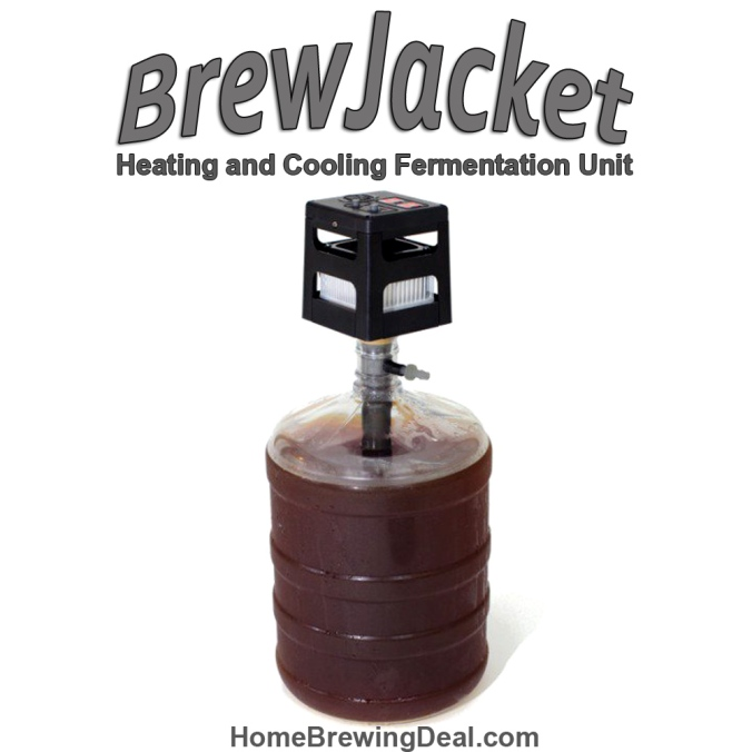Save $31 on a BrewJacket Fermentation Heater and Cooler #brewjacket #brew #jacket #fermentation #carboy #heater #cooler #temperature #controller