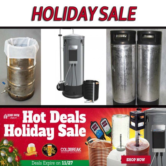 2-Day Holiday Homebrewing Sale