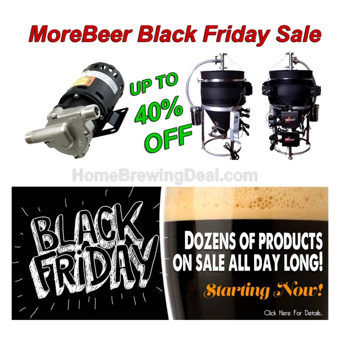 MoreBeer.com Black Friday Sale Promo Code #homebrew #morebeer #more #beer #black #friday #sale #deal #homebrewer #christmas #gits #idea #home #brewing #homebrewing