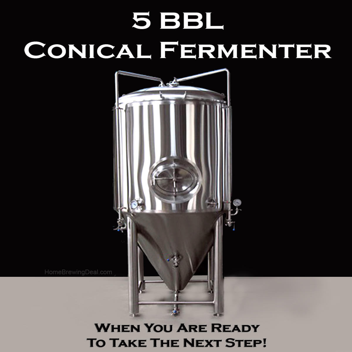 Stainless Steel Conical Fermenter 175