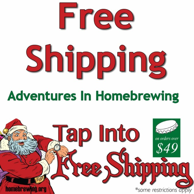 Get Free Shipping at Adventures in Homebrewing plus up to 60% Off Many Popular Home Brewing Items! #homebrew #homebrewing #deal