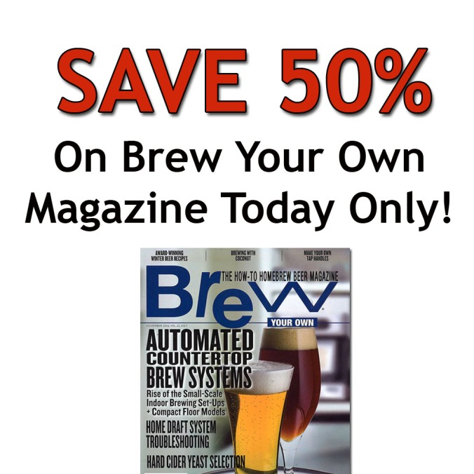Save 50% On Brew Your Own Home Brewing Magazine with this More Beer Promo Code - Today Only #homebrew #homebrewing #Magazine #BYO #brew #your #own #promo #code #coupon