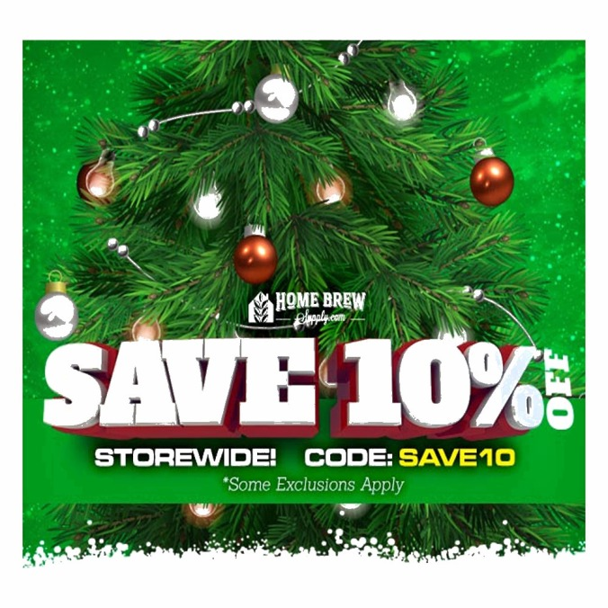 Save 10% Site Wide on Home Brewing Equipment and Supplies with this Coupon for HomebrewSupply.com