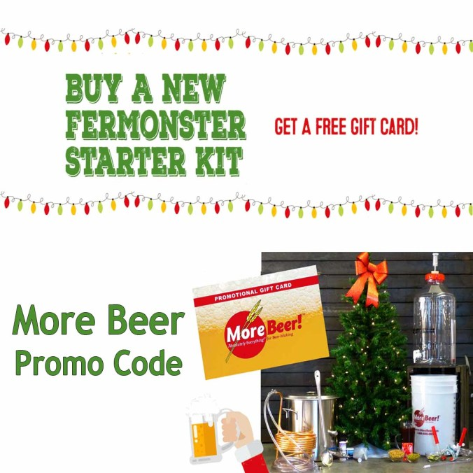 Buy a Home Beer Brewing Kit, Get Free Shipping And A Free $20 Gift Card With This MoreBeer.com Coupon Code