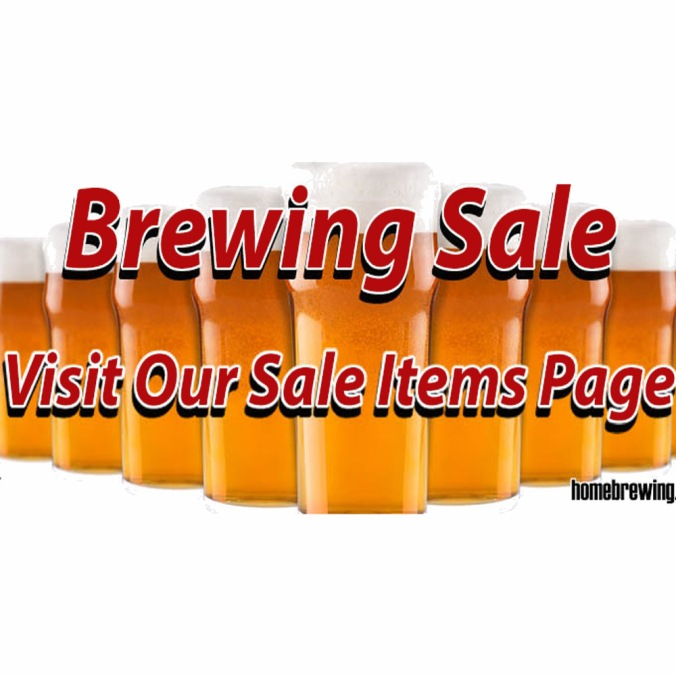 Save on over 200 Items at the Adventures in Hombrewing Warehouse Clearance Sale!