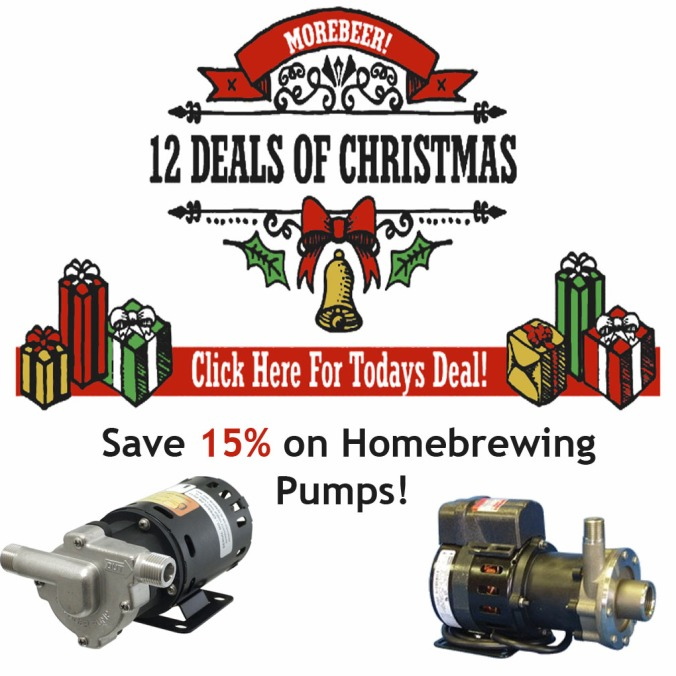 Save 15% On Homebrewing Pumps at MoreBeer.com Today