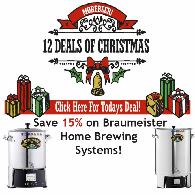 Save 15% On BrauMeister Home Beer Brewing Systems #morebeer #promo #code #coupon #deal #homebrewing #homebrew #speidel #brau #meister #braumeister #home #brewery #system #brewing #brew #setup #brewery