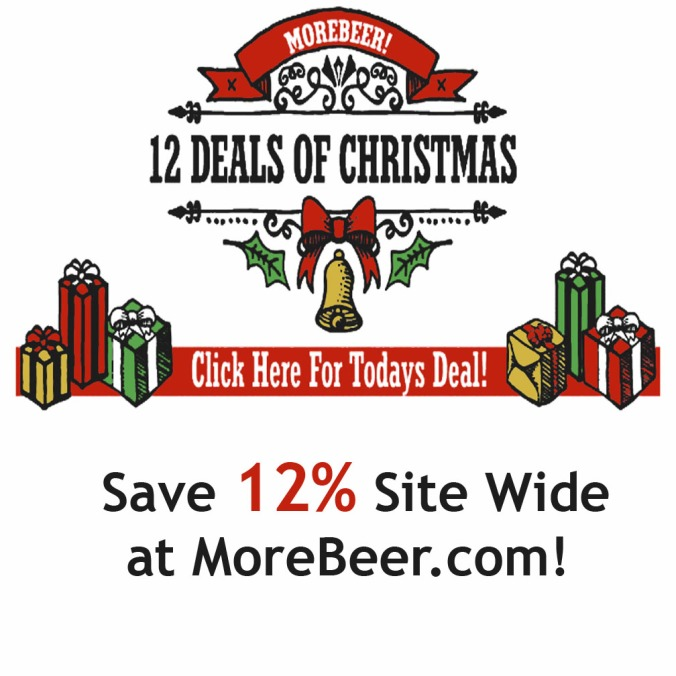Save 12% Site Wide with this MoreBeer.com Coupon Code