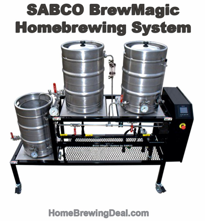 New SABCO BrewMagic Homebrewing System Now Available #Sabco #Brew #Magic #BrewMagic #homebrewing #system #brewrig #rig #sculpture #brewing #brewery #allgrain #homebrew #setup