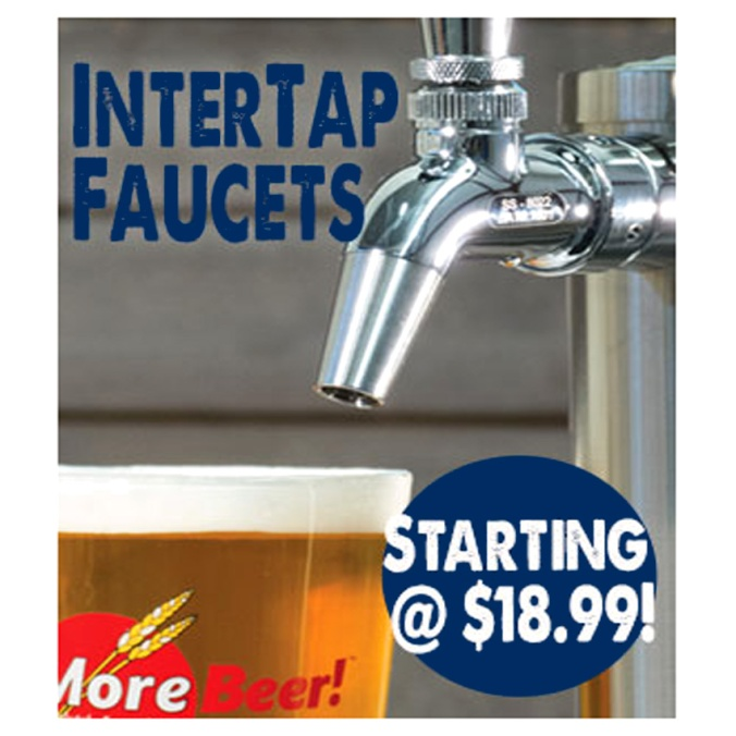 Intertap Forward Sealing Beer Faucets For $18 #beer #tap #faucet #intertap #sale #best #price
