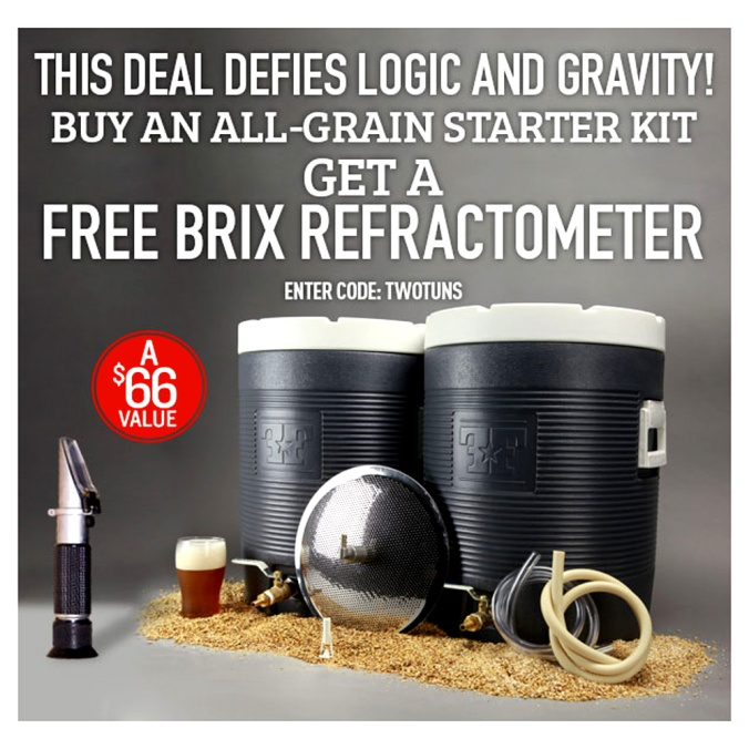 NorthernBrewer.com Promo Code for a Free Refractometer #homebrew #homebrewing #northern #brewer #promo #code #coupon
