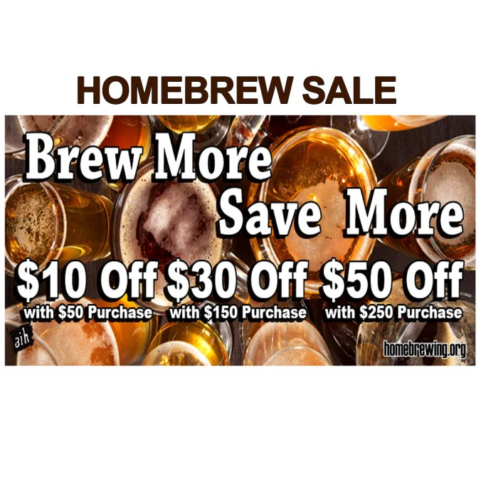 Save Up To 20% On Your Homebrewing Order #adventures #in #homebrewing #deal #sale #homebrew #beer #brewing