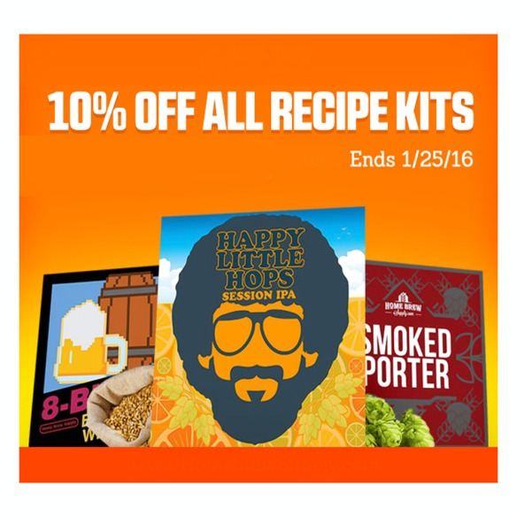 Save 10% On Your Homebrew Recipes #beer #recipe #ingredient #kit #extract #all #grain #allgrain #promo #code #coupon #homebrew #homebrewing #supply #deal