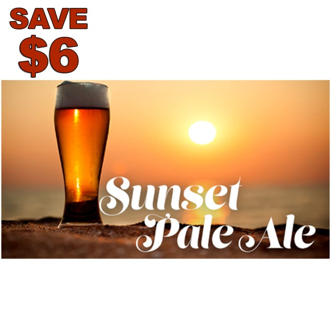 Save $6 On A Sunset Pale Ale Beer Recipe Kit #beer #recipe #kit #morebeer #more #beer #promo #coupon #code