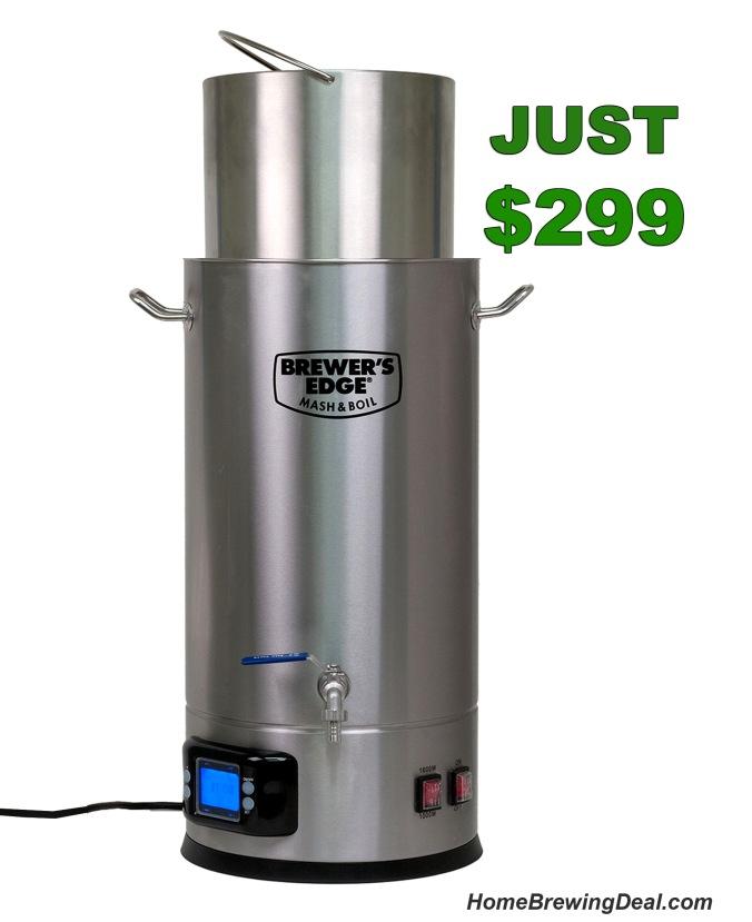 Brewers Edge Homebrewing System #homebrew #homebrewing #brewers #edge #brewersedge