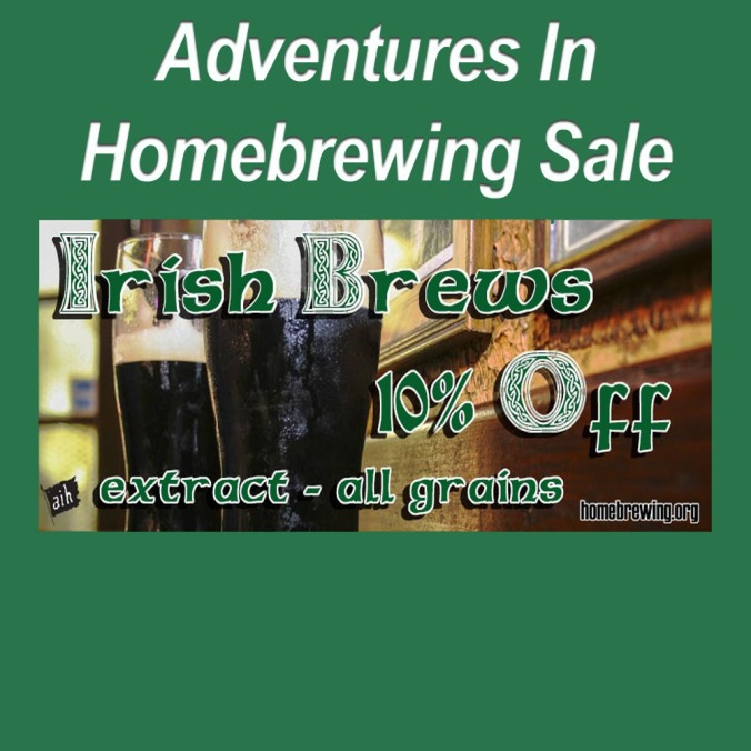 Save 10% On Irish Beer Kits for Saint Patrick's Day!