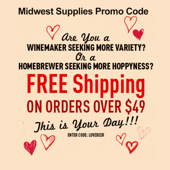 Get Free Shipping with this Midwest Supplies Coupon #homebrew #homebrewing #midwest #supplies #midwestsupplies.com #promo #coupon #code #homebrewer