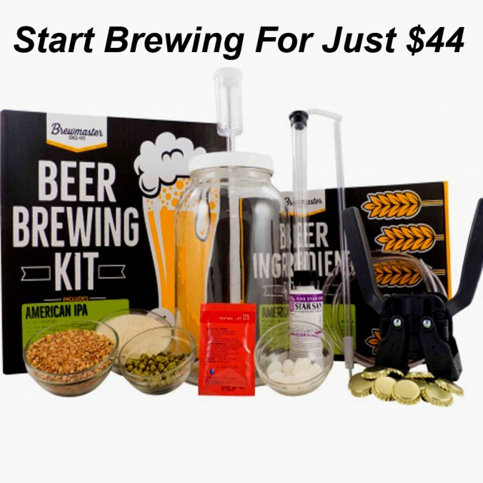 Start Brewing Beer at Home for Just $44