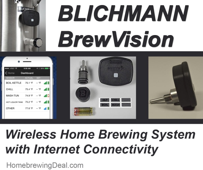 Blichmann BrewVision - Digital Wireless Home Brewing Monitoring System