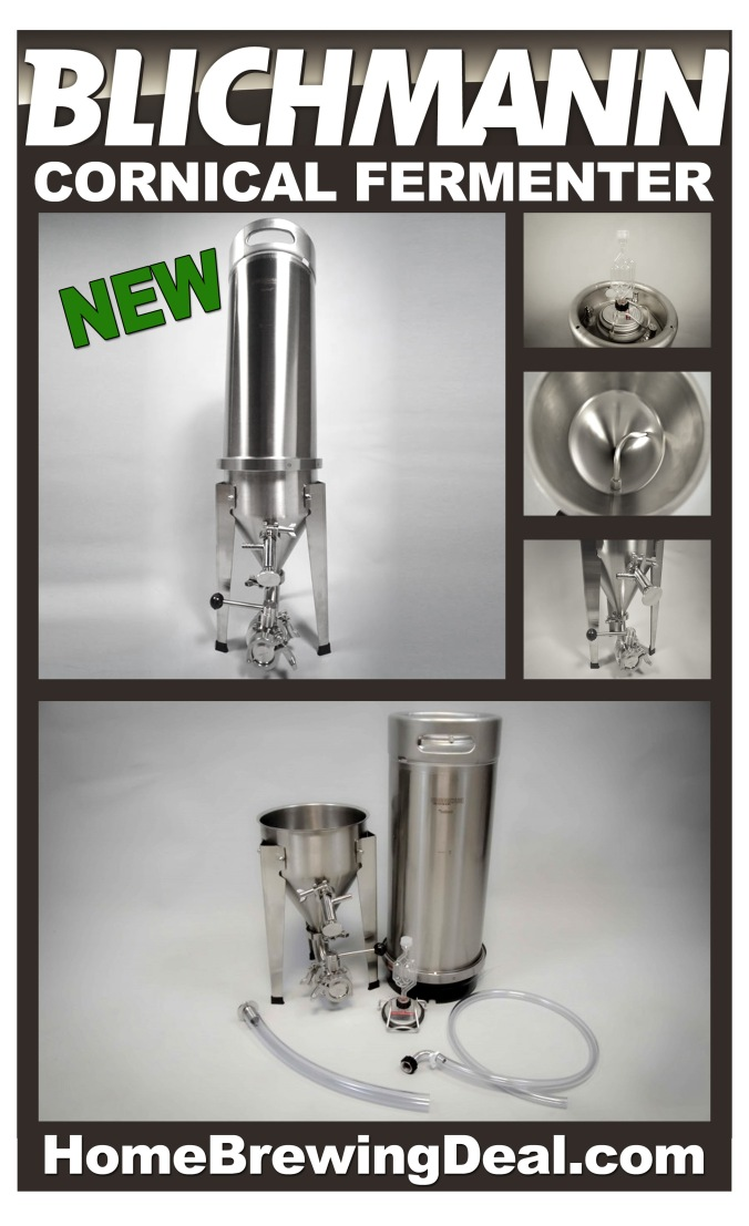 Blichmann Cornical - Keg Based Homebrewing Fermenter