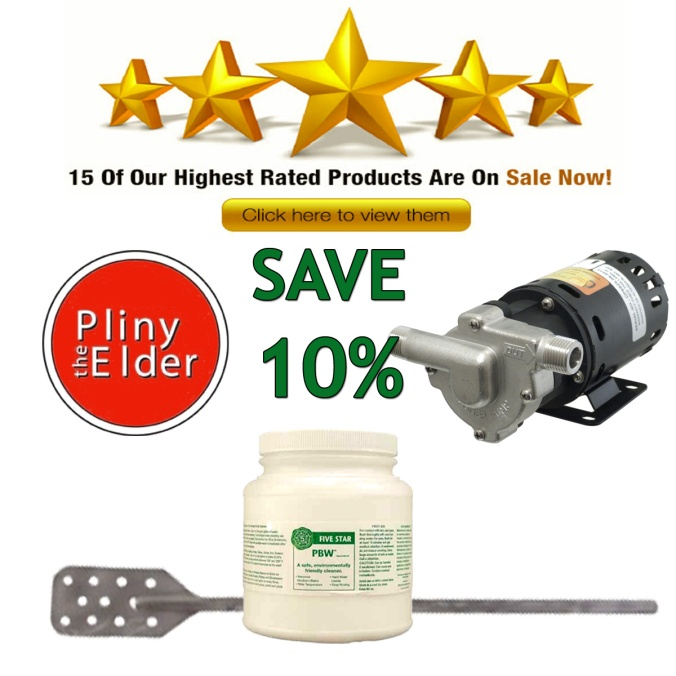 Save 10% On MoreBeer.com's Most Popular Home Brewing Items Including Pliny the Elder Beer Recipe Kits!