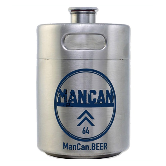 Save $10 on a Stainless Steel Mini Keg Growler