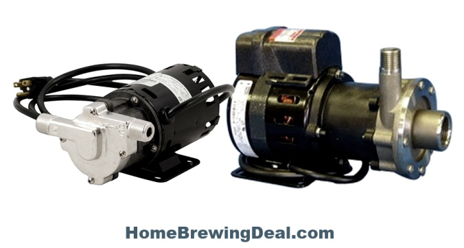 March Brewing Pumps