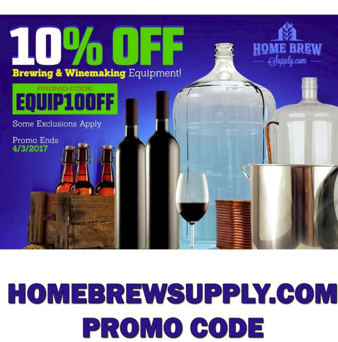 Save an Extra 10% on Home Brewing Equipment with this HomebrewSupply.com Promo Code