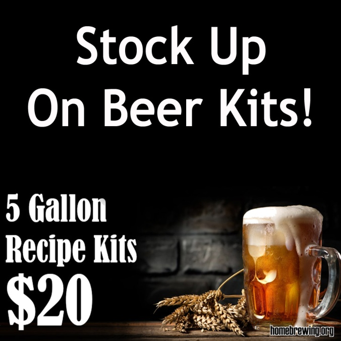 Homebrewing Recipe Kit Sale - Just $20 For Extract & All Grain Beer Kits!