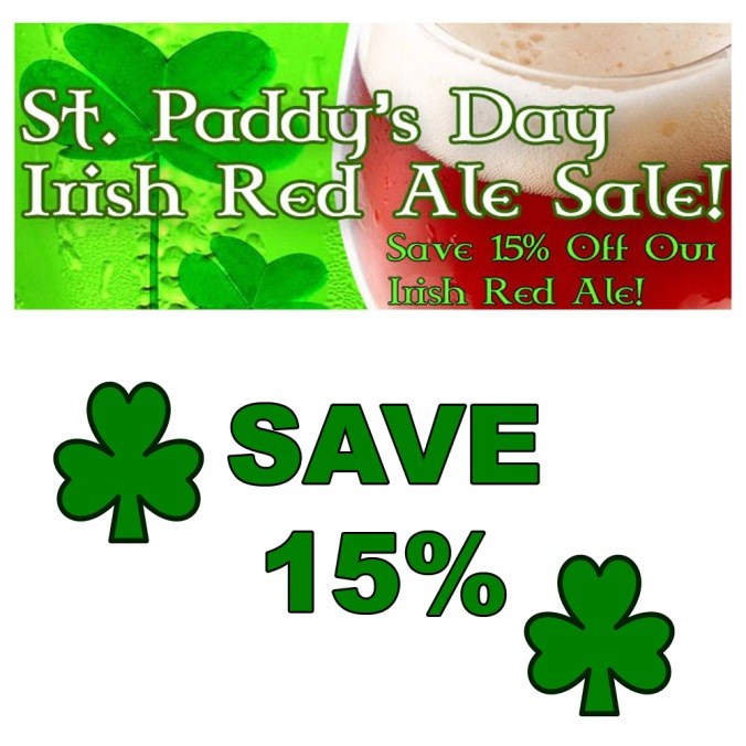 Save 15% On Irish Red Home Brewing Kits with this More Beer Coupon Code