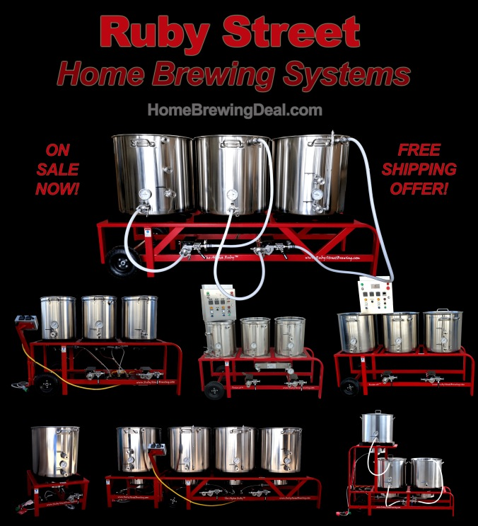 Ruby Street Home Brewing Systems Coupon