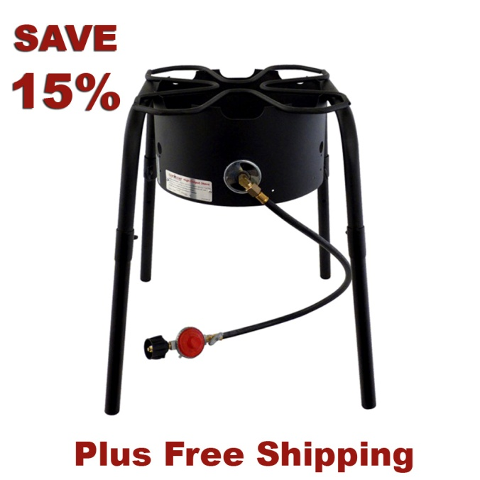 Save $15 On A Home Brewing Burner and Stand
