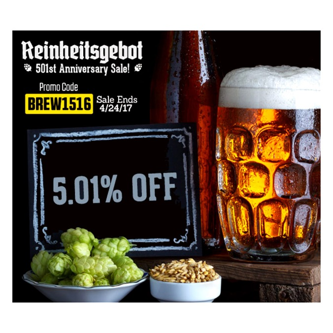 HomebrewSupply.com Promo Codes and Coupons