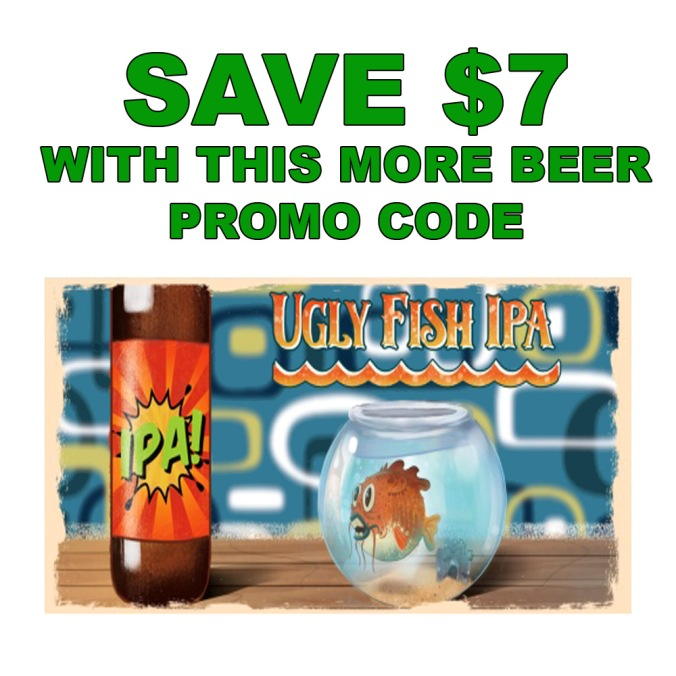 Save $7 On a More Beer Ugly Fish IPA Beer Kit
