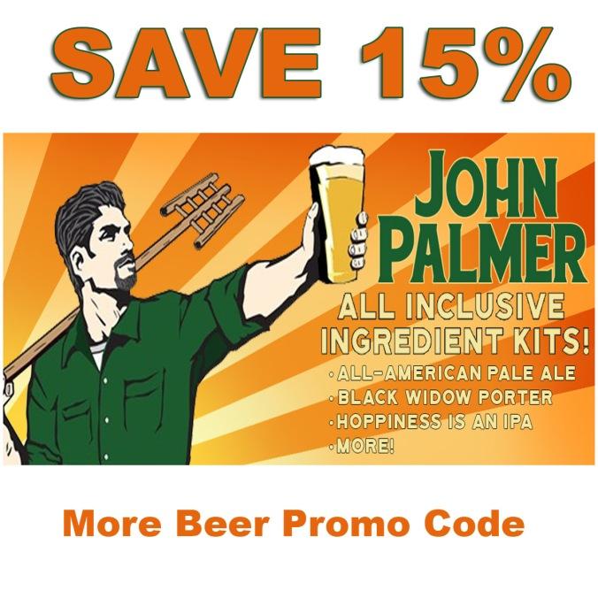 Save 15% On John Palmer Beer Kits! #homebrew #johnpalmer #beer #kits