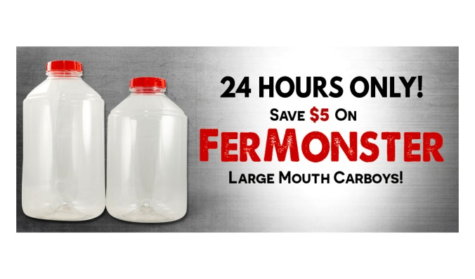 Save $5 On Each Fermonster Carboy with this MoreBeer.com Promo Code
