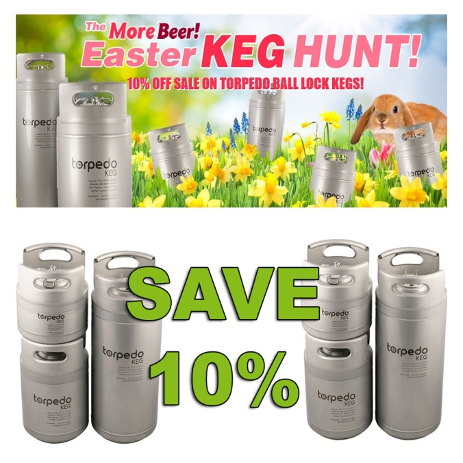 Save 10% On Torpedo Kegs