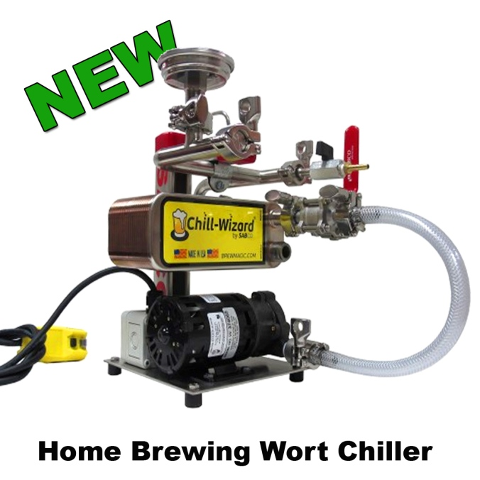Sabco BrewMagic Wort Chiller #sabco #homebrew #homebrewing #wort #chiller
